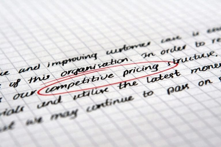 How to Avoid Pricing Pressure