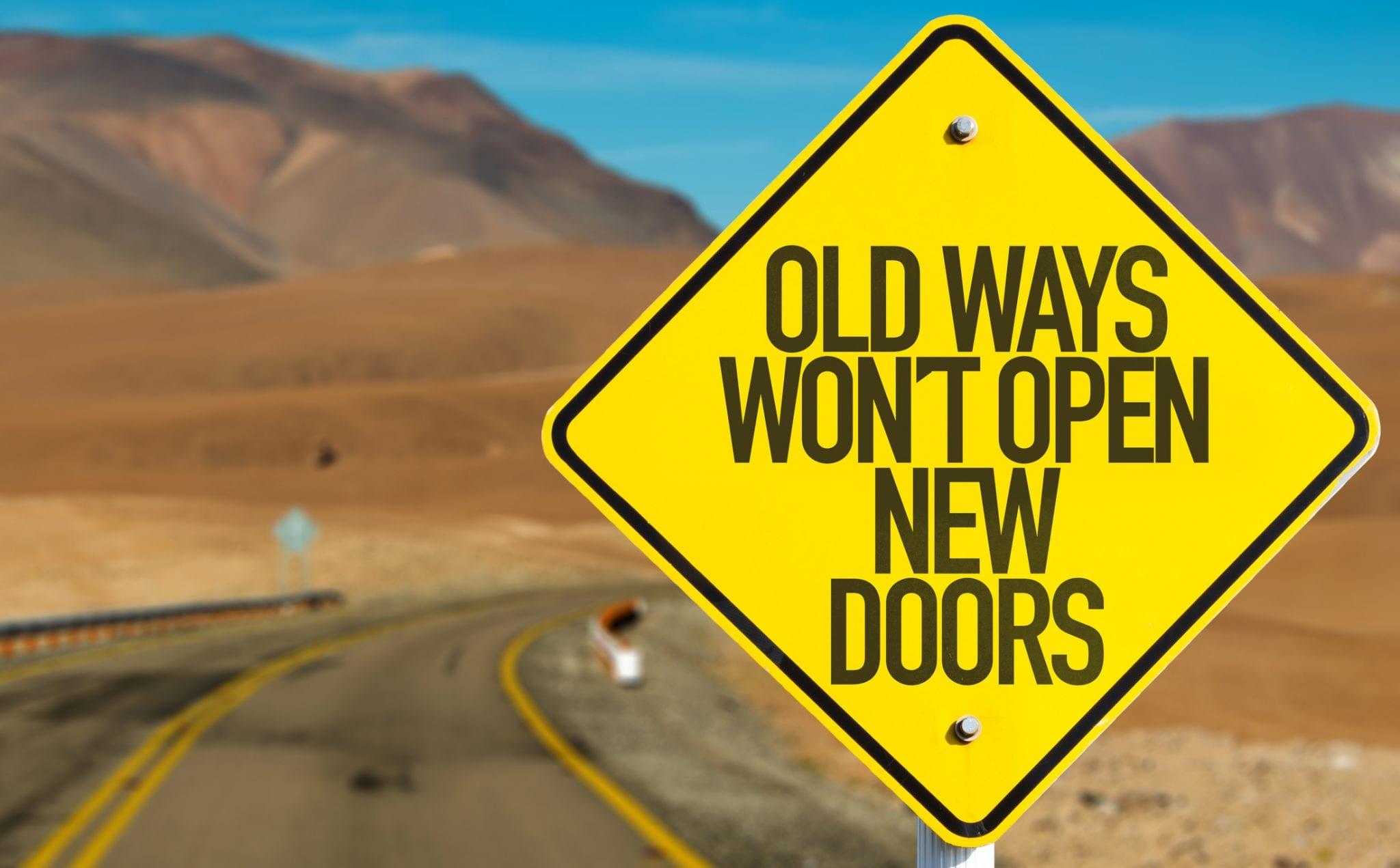 Decisions - Old Ways Wont Open New Doors
